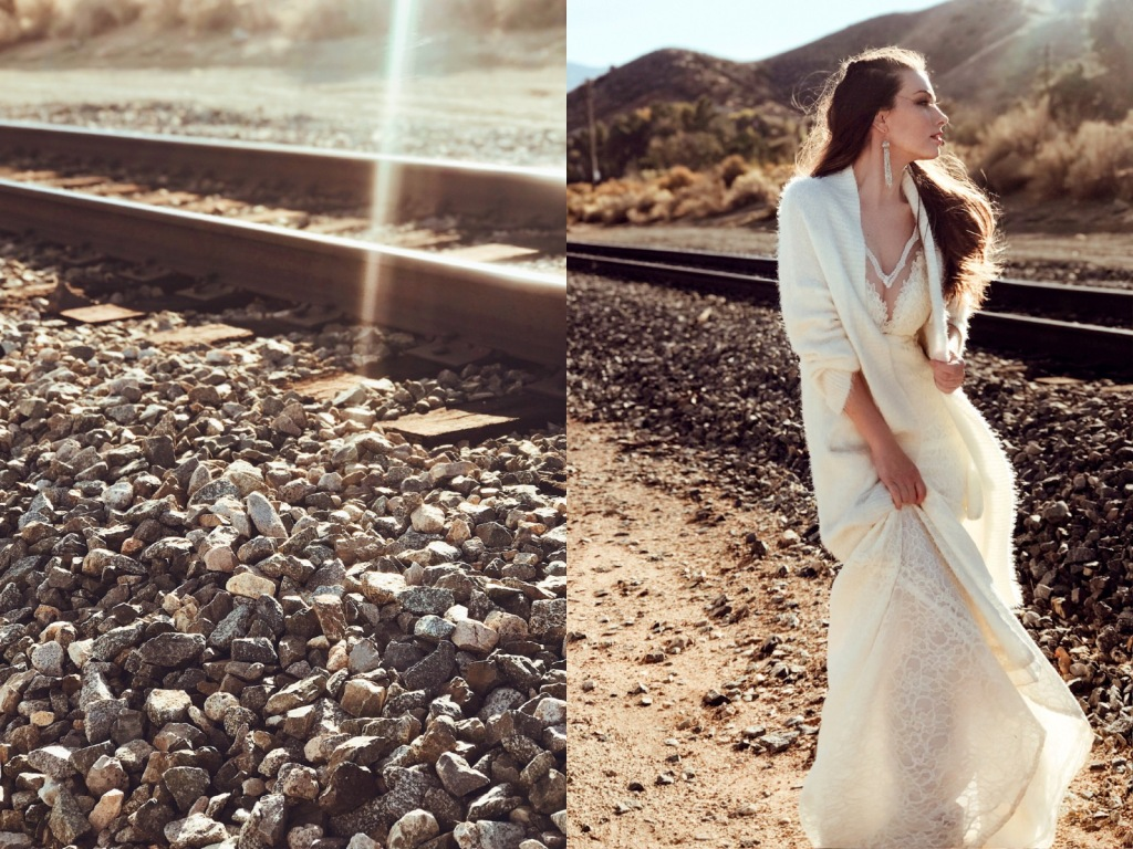 Wedding dress designer shares a history of wedding gown trains and offers advice on choosing the perfect train