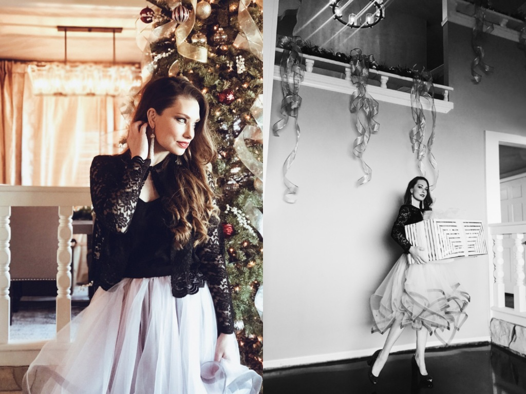 Los Angeles Bridal Designer Lauren Elaine shares a holiday look at her home in Los Angeles