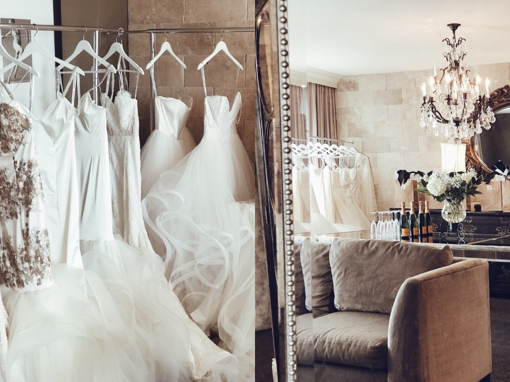An inside look at the Lauren Elaine Bridal Style Suite Trunk Show event in Houston, Texas