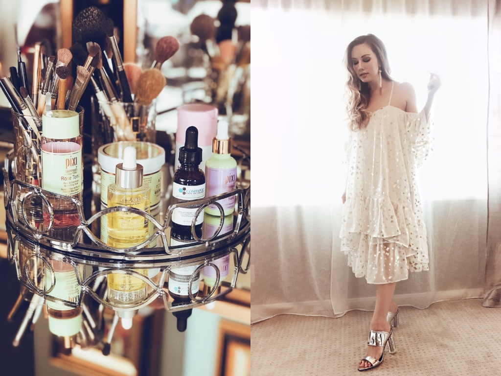 Designer Lauren Elaine shares her favorite products for glowing skin and wedding beauty looks