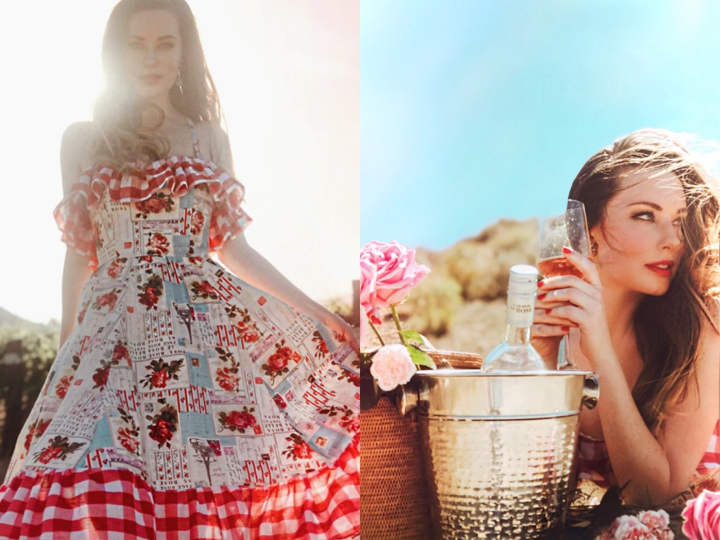 Designer Lauren Elaine shares her favorite rosé pics, from dresses to varietals
