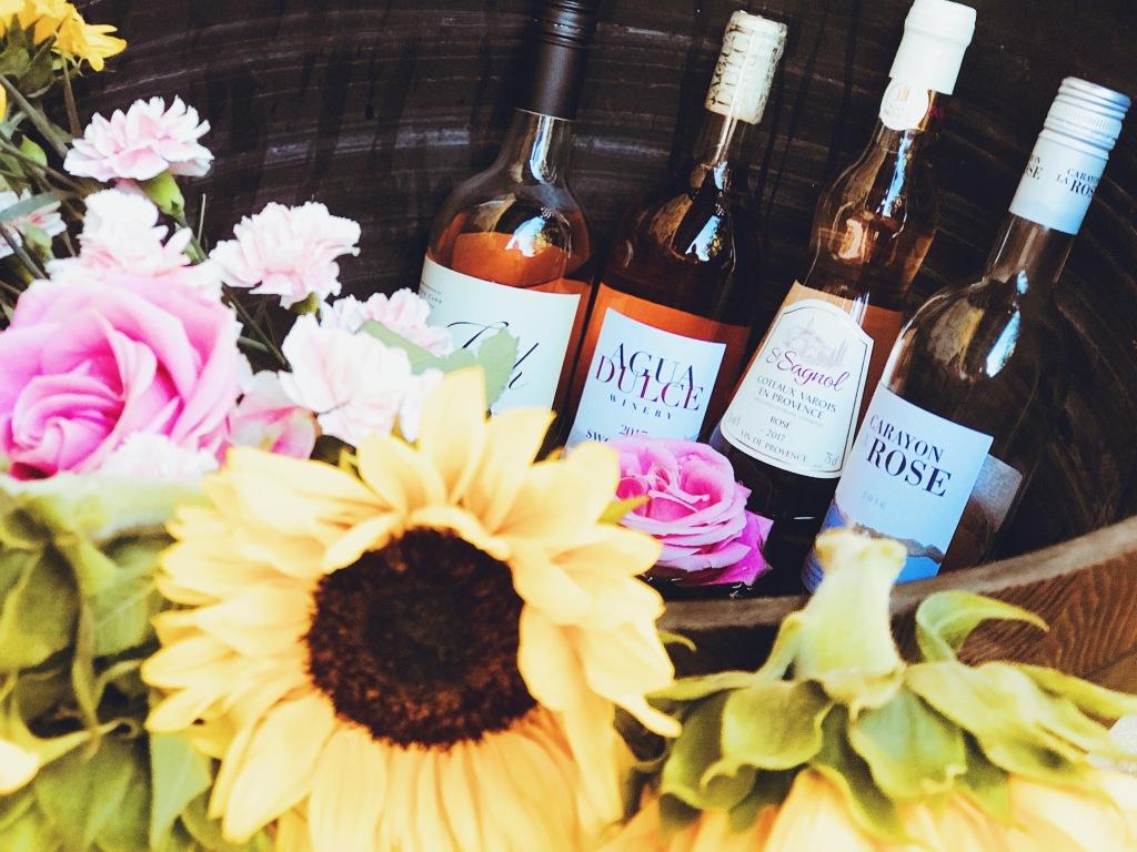 Favorite Rosé wines of 2018!