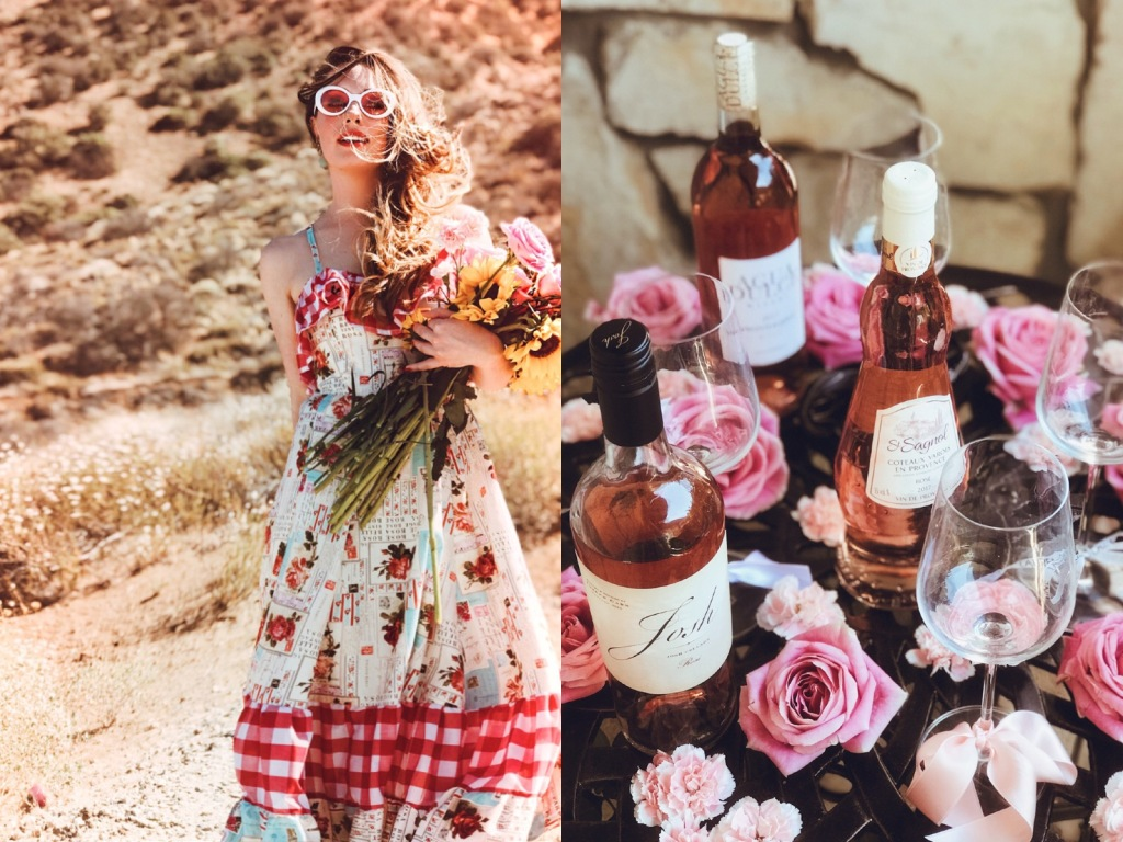 The best rosés for summer weddings and parties by lifestyle blogger Lauren Elaine