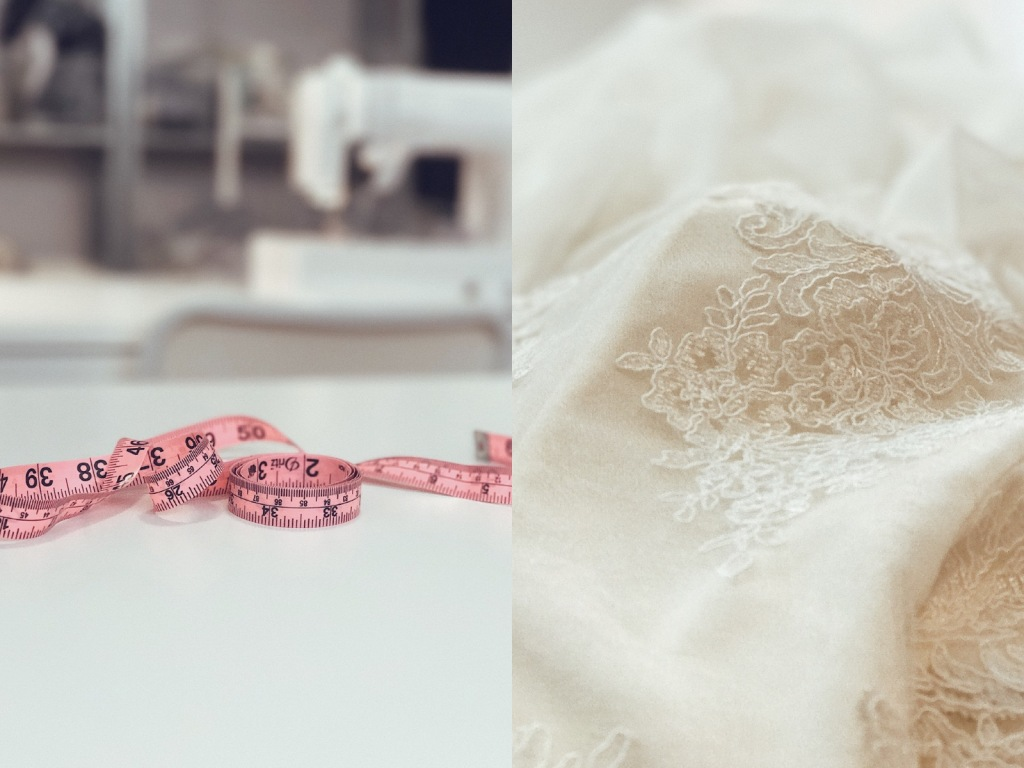 Request a Lauren Elaine Bridal Sample to Try on at Home