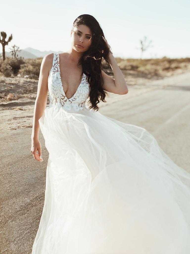 """Lauren Elaine """"Isadora"""" Wedding Gown"""