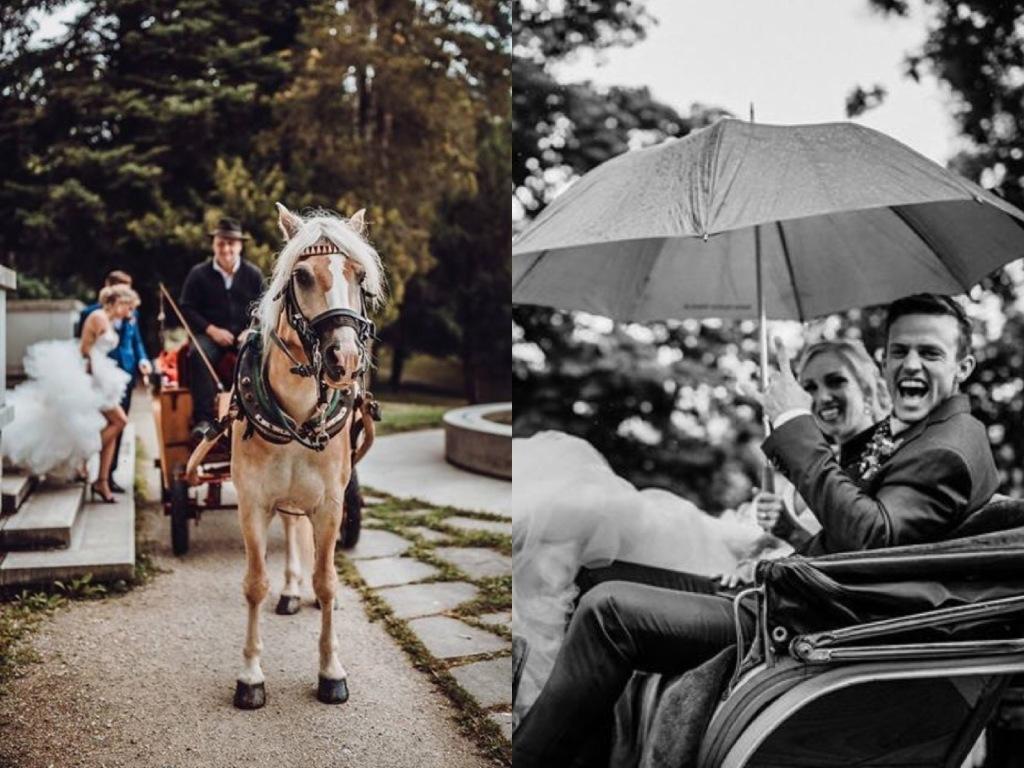 Fairytale wedding at Lake Bled, Slovenia
