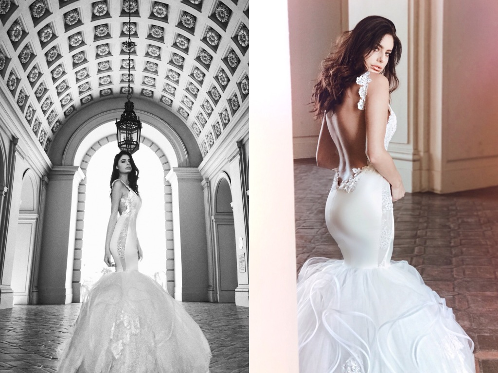 "Lauren Elaine ""Euphoria"" mermaid wedding dress"