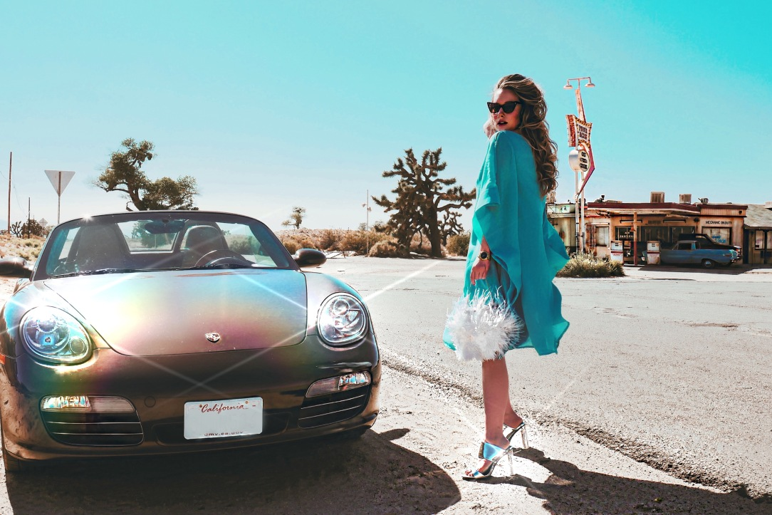 Lauren Elaine takes a desert road trip to Four Aces Movie Ranch with MVMT